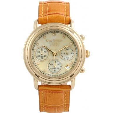 Krug Baumen Mens 8 Diamond Chrono Watch (Watches2U) SAVE 94%