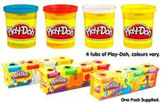 Play-Doh 4 Pack £2 @ The Entertainer & John Lewis - both free delivery to store