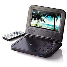 Red Portable DVD Player Black was £99.99 now £49.99 from sainsburys