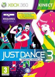 Just Dance 3 on XBOX 360 (Kinect) only £15.99 @ Game poss £14.23 with code