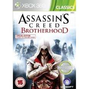 Assassins Creed Brotherhood Classics edition Xbox 360 £8.99 @ Amazon
