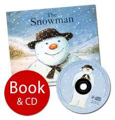 The Snowman - Book & CD (Hardback & CD) by Raymond Briggs £3.99 delivered @ The Book People
