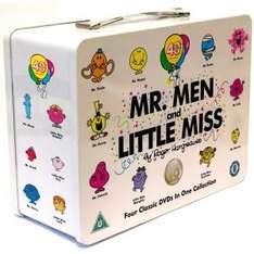 Mr Men And Little Miss Collectible Tin Box Special Edition 4 DVD Box Set - only £10.15 delivered (using code) @ I Want One of Those