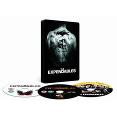 Expendables Steelbook - Double Play (Blu ray + DVD) £8.99 @ Amazon
