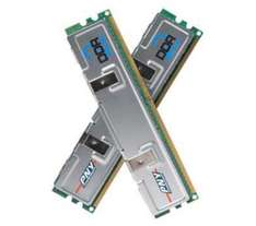 PNY PC2-6400 DDR2-800 DIMM RAM Memory Module Kit - 2GB (2 x 1GB) - £9.97 delivered @ dixons.co.uk (clearance stock)