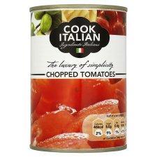 Cook Italian Chopped tomatoes 400g, 39p BOGOF @ Tesco (19.5p a tin)