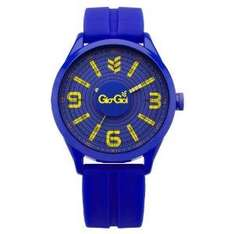 Gio-Goi Men's 'Bass-Head' Analogue Watch GG1009BL With Blue Silicon Strap - £10.50 @ Amazon