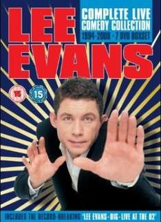 Lee Evans - The Complete Live Comedy Collection 1994 - 2008 - £25.99 @ Sainsburys Ent