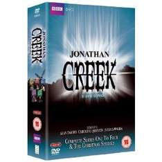 Jonathan Creek: Series 1-4 + Christmas Specials - DVD - £12.95 Delivered + 3% Quidco @ thehut