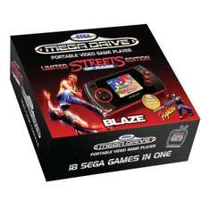 Limited Edition Streets Of Rage Sega Mega Drive Handheld Console now £17.99 delivered @ play