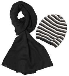 French Connection Mens Beanie-Scarf Box Set  £14.99 + free delivry at MandMDirect on ebay