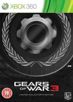 GEARS OF WAR 3 Limited Edition - Game Advent Deal of the Day- Today Only -£29.99 Online-(Not sure if deals In store too)