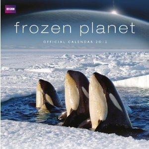 Official BBC Earth Frozen Planet Calendar 2012  - £4.79 Delivered @ Amazon