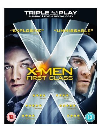 X-Men First Class Triple Play (Blu-ray + DVD + Digital Copy) - £4.99 online at Best Buy