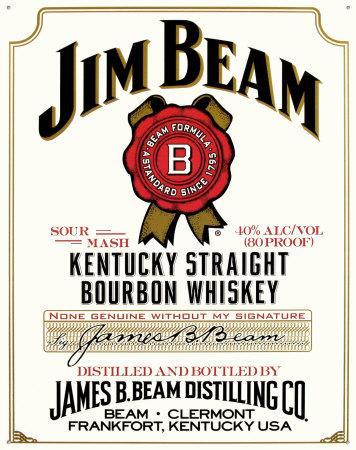 Jim Beam white label 70cl £13.00 (usually around 20) at ASDA bourbon whisky