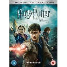 Harry Potter And The Deathly Hallows Part 2 [DVD] [2011]  £8.00 (pre-order) @ Amazon