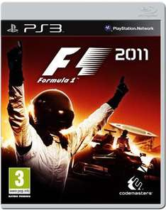 F1 2011 PS3/X360 + FREE Delivery @ Gameplay