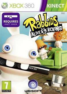Rabbids - Alive and Kicking - Kinect Compatible (Xbox 360)  @ AMAZON - £17.99 - DELIVERED