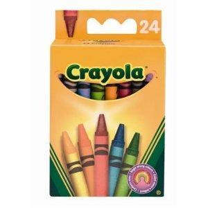 24 Crayola Wax Crayons £1.00 @ ASDA in-store