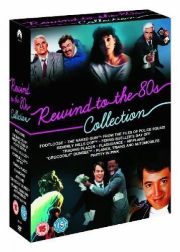 Rewind to the 80s 10 dvd boxset @the hut