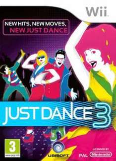 Just dance 3 on wii at Game.co.uk only £18.74