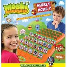 Moshi Monster Guess who type game. £7.80 Delivered Amazon.