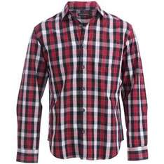 French Connection Men's Check Shirt Red £14.99 Blue £17.99 @ play.com