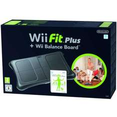 NINTENDO Wii Fit Plus and black Wii Balance Board £61.85 @ The Hut using code