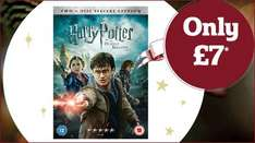 Harry Potter and the Deathly Hallows Part 2 DVD only £7* When you spend £30 instore @ Sainsbury's