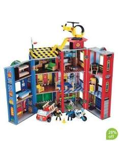 ELC Wooden Rescue Centre Bargain on Mothercare £80