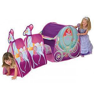 Disney Princess Cinderella Carriage Tent - £12.99 delivered @ Home Bargains