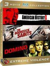 American History X/Boondock Saints/Domino (BLU RAY) £12.99 @ ebay  morganentertainment