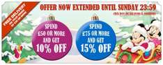 Disney Store Free UK Delivery When You Spend £30 online until 11/12/11
