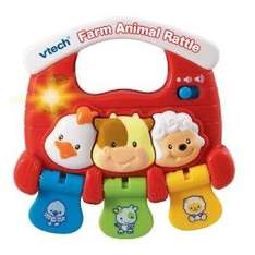 VTech Farm Animal Rattle 4.31 Delivered @ Amazon