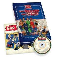 Broons and Oor Wullie Rare Vintage Comic Strips (Gift Book) [Hardcover] NOW  £3.99 @ Amazon