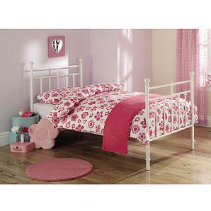 Victoriana White Metal Bed - Single £89 plus 20% off voucher code @ Asda Direct