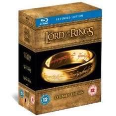 The Lord of the Rings Trilogy - The Extended Edition [Blu-ray] £40 Amazon