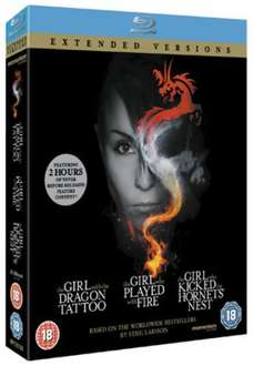 The Girl Who... Trilogy - Extended Versions Blu-Ray Boxset £14.49 at ChoicesUK