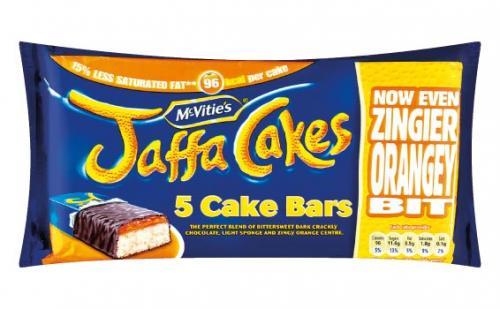 McVitie's Jaffa Cake Bars - 5 Pack 65p at Lidl