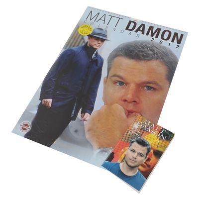 Matt Damon Calader and Diary Set Todays Mega Steal £2 @ Sports Direct