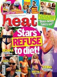 4 Issues of Heat Magazine for just £1 @ Great Magazines