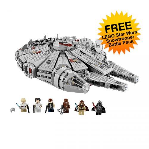 Lego 7965 Star Wars Millenium Falcon plus free Snowtrooper Battle Pack £90.99 @ Firebox