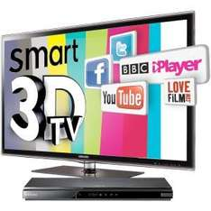 Samsung 40'' 3D LED TV with free Blu-Ray player and 2x 3D Glasses - £699.99 - Comet