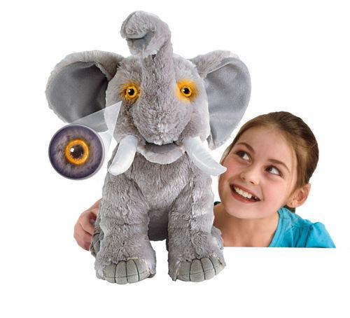 "Animal Planet 18"" Wild Eyes Grey Elephant - £8.98 Delivered @ eBay Argos Outlet"