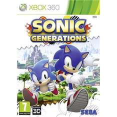Sonic generations Xbox360 and ps3 £19.97 tesco