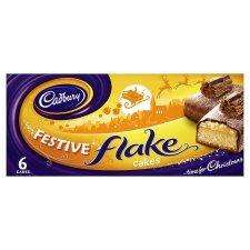 Cadbury 6 Festive Cakes With Flakes £2.29 BOGOF @ Tesco