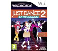 Just Dance 2 Extra Songs - for Nintendo Wii - £9.98 Delivered @  Dixons