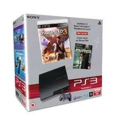 PS3 320GB for £199.99 With Faster Bluray and Uncharted 3 Plus Selected Game For £25(BF3, Fifa12, Need for Speed The Run or Sims3 Pets) @ Amazon