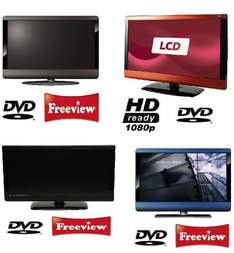 TECHNIKA 23 INCH LCD TV/DVD HD READY WITH FREEVIEW & USB £150 Delivered @ Tesco / Ebay *NEW* (4 Colours)