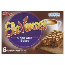 Kelloggs Elevenses 6 pk ( choc chip only) 61p @ Tesco Express